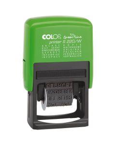 Colop Printer S 220/W Green Line