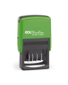Colop Printer S 260 Green Line Datumstempel - 45x24 mm