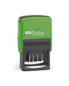 Colop Printer S 260 Green Line Datumstempel - 45x24 mm