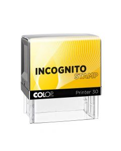 Colop Printer 30 Incognito - Der DSGVO Stempel - 47x18 mm