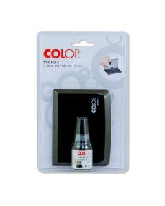 Colop Micro 2 Stempelkissen +  Stempelfarbe