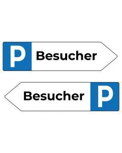 Fertigschild - Besucher Parkplatzschild