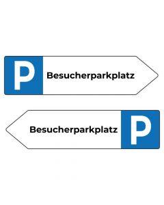 Fertigschild - Besucherparkplatz