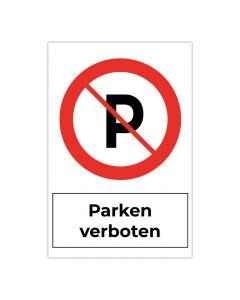 Fertigschild - Parken verboten 2
