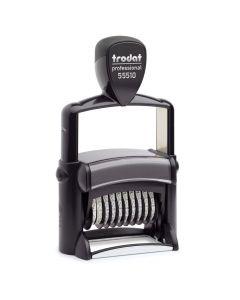 Trodat Professional 55510/PL Ziffernstempel - 56x33 mm