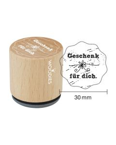 Woodies Motivstempel - Geschenk für Dich