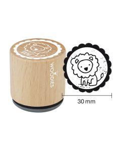 Woodies Motivstempel - Löwe