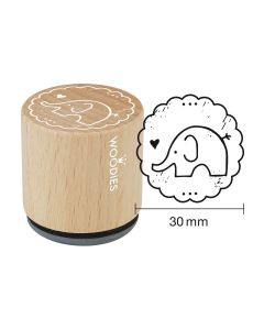 Woodies Motivstempel - Elefant