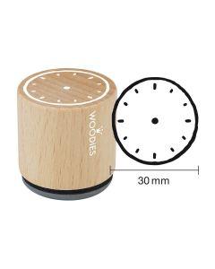Woodies Motivstempel - Uhr
