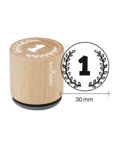 Woodies Motivstempel - Nummer 1