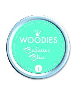 Woodies Farbkissen - Balance Blue