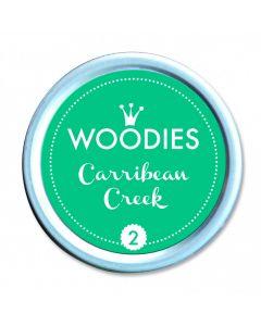 Woodies Farbkissen - Carribean Creek