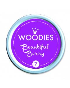 Woodies Farbkissen - Beautiful Berry