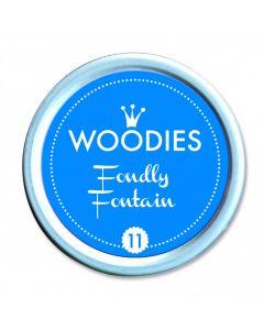 Woodies Farbkissen - Fondly Fountain