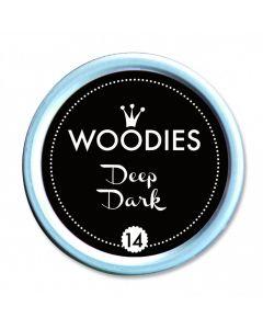 Woodies Farbkissen - Deep Dark