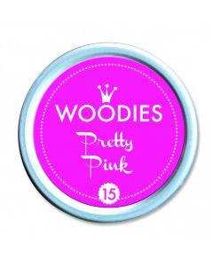 Woodies Farbkissen - Pretty Pink