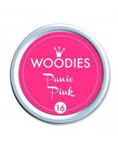 Woodies Farbkissen - Panic Pink