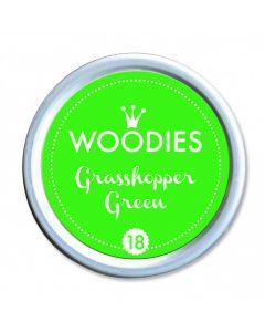 Woodies Farbkissen - Grasshopper Green