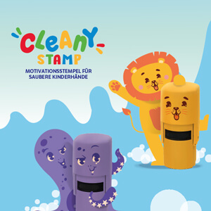Cleany Stempel