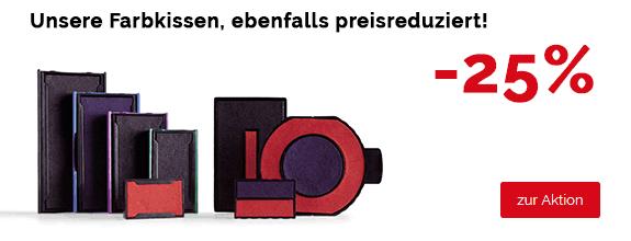 Farbkissen-AKtions-Banner